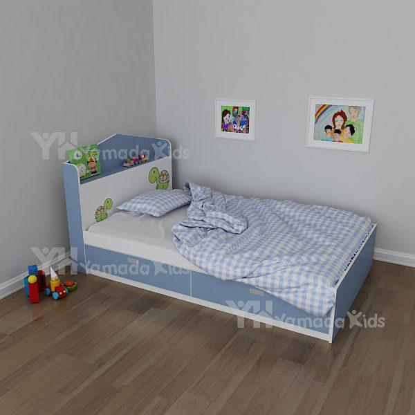 Giường đơn trẻ em G02 có ngăn kéo