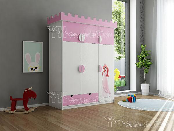 Tủ quần áo công chúa TA09 dành cho bé gái