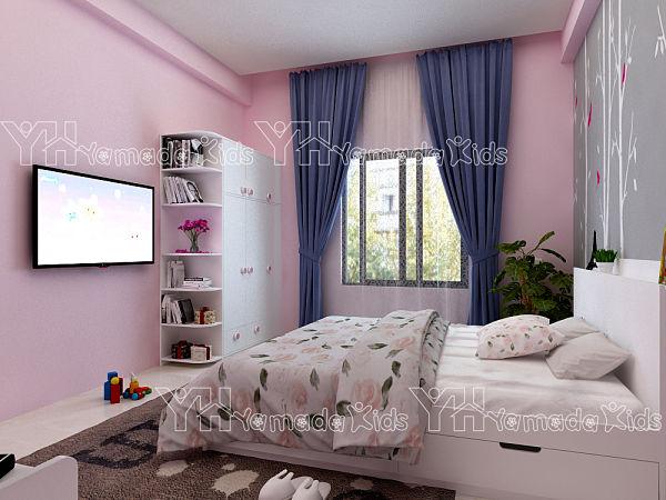 10 mẫu nội thất phòng ngủ trẻ em hiện đại sáng tạo