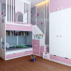 Giường tầng Gt15 cho bé trai và bé gái