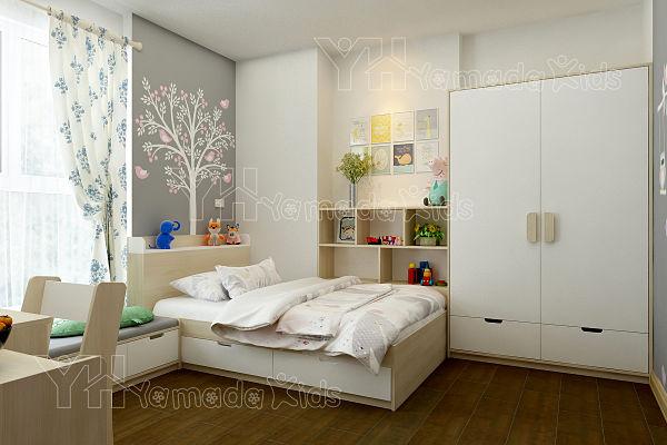 trang trí nội thất phòng ngủ cho bé