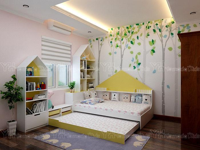 Set phòng giường kéo Y38