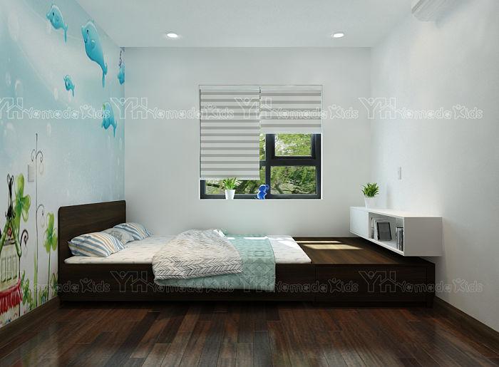 Bục giường kéo GK20