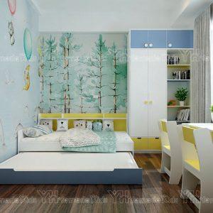 Bộ phòng giường kéo Y48