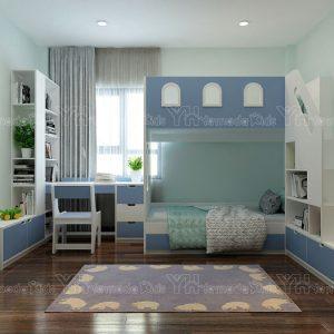Bộ phòng giường tầng cho bé trai Y47
