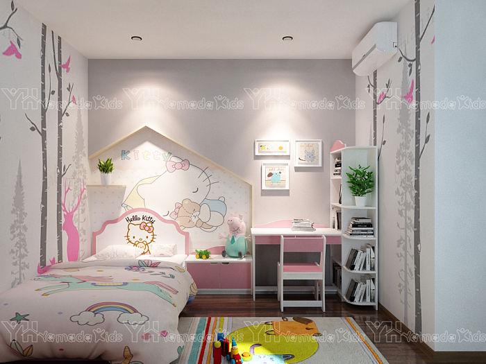 Bộ phòng mèo Hello Kitty cho bé gái Y53