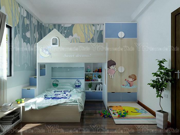Phòng ngủ giường tầng