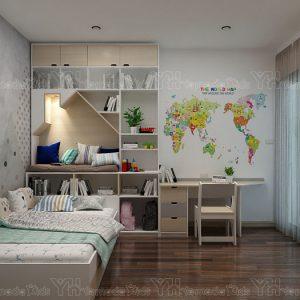 Phòng ngủ cá tính Y54